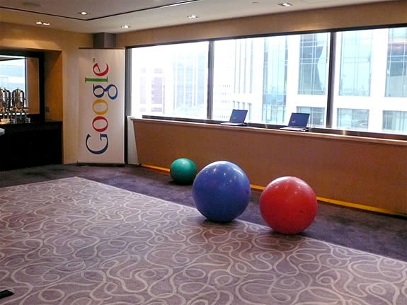 google's modern buenos aires office