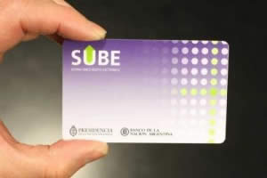 A picture of the Buenos Aires sube card used for public transportation