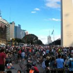 Cyclists Celebrate 4 Years of Critical Mass in Buenos Aires