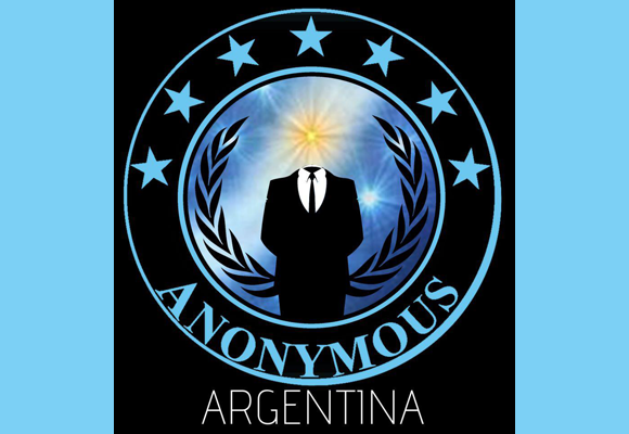Visual of Anonymous Argentina --taking down indec
