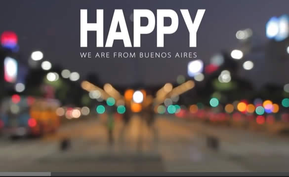 Happy in Buenos Aires video screenshot