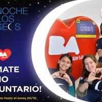 Flyer to volunteer at the Buenos Aires La Noche de los Museos 2014