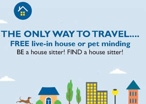 House sitter ad