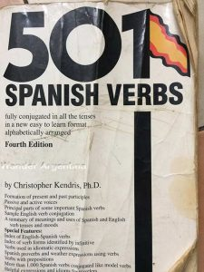 A picture of the book 501 Spanish Verbs