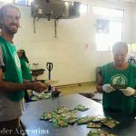 volunteers at the Food Bank of San Martin Buenos Aires