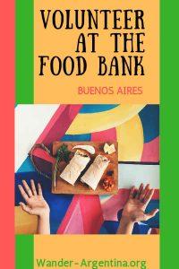 Volunteer at the Food Bank, Buenos Aires | Wander-Argentina.org